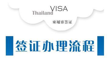 柬埔寨签证办理流程