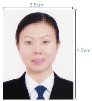 泰国签证照片要求