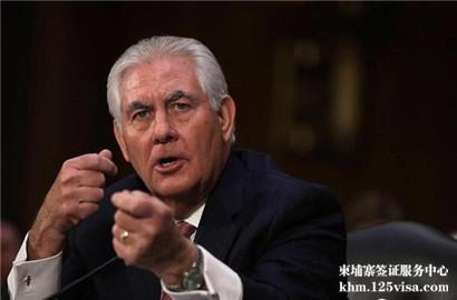 美国对柬埔寨等四国公民实施签证限制
