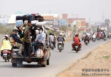 在柬埔寨的中国同胞亡人节期柬注意安全